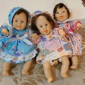 VTG GI GO bean bag kids Palm Pals Expression dolls